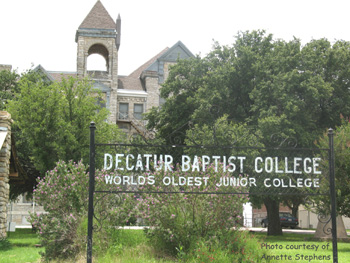 photo Decatur Baptist College