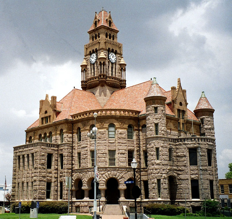 wise county courthouse national register